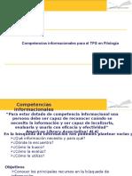 Competencias para encontrar información y redactar un ensayo