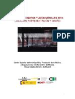 Espacios Sonoros y Audiovisuales 2013_op