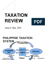 Taxation Review Lecture