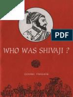 Who Was Shivaji by Govind Pansare