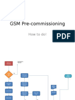 GSM Pre-commissioning Process