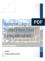 ACD Proposed 4 Storey With Roof Deck Building