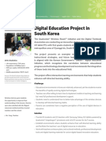 South Korea Digital Education Project