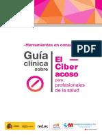 Guia Ciberacoso Profesionales Salud Herramientas Consulta FB