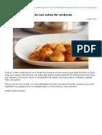 Albóndigas de Bonito Con Salsa de Verduras » Recetas Thermomix _ MisThermorecetas