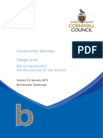 B Construction of Car Parks