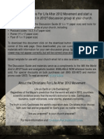 Will the World End In 2012? Discussion Guide & Church Kit