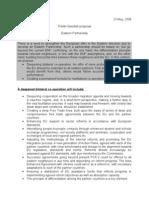 Eastern Partnership Proposal added by Ion Marandici