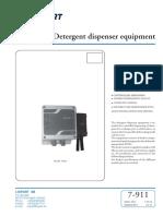 Detergent EquipmentL 7-911 9282
