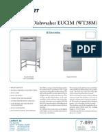 L 7-089 502044_502045.Marine Dishwasher EUCIM (WT38)