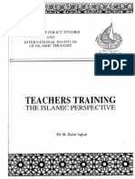 Teacher's Training the Islamic Perspective (Full Book)