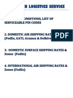 Zepo AVN Rate List With Pin Codes