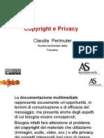 Copyright e Privacy