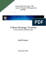 Urban Heritage Tourism a Case Study of Dubrovnik