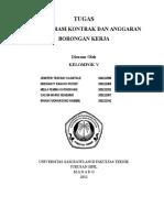 Administrasi Kontrak Dan Anggaran Borongan