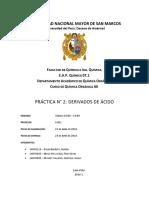 Informe 2 Quimica Organica AII