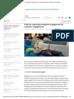 8 Tips for Improving Employee Engagement (or Customer Engagement) _ Matthew Partovi _ LinkedIn