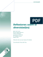 Dossier Reflexion Sobre Diversidad(E.s)