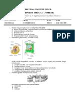 Soal Jawaban UAS Biologi Kelas XI Semester 1