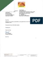 Investor's Presentation [Company Update]