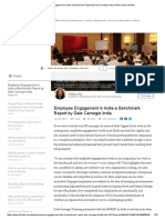 Employee Engagement in India-A Benchmark Report by Dale Carnegie India