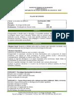 Plano de Ensino Superior - Sociologia Da Educação(1)