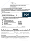 Absentee Ballot Request Form for Sarasota residents