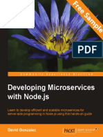 Developing Microservices with Node.js - Sample Chapter
