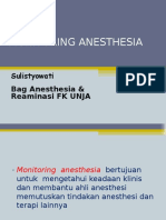 Monitoring Anesthesia