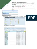 Documentação - Usuário Coletivo - SAP ZILOR
