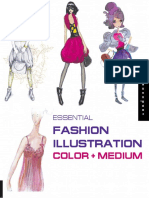 Essential Fashion Illustration Essential Color and Medium