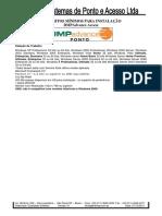 Requisitos Minimos Instalacao DMPAdvance Access 01