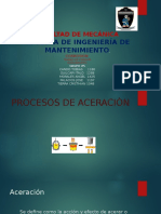 Proceso de Aceracion Grupo 5