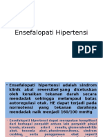 Ensefalopati Hipertensi