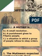 The Cavite Mutiny