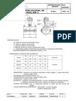 Gas Brasiliano - M 1881-2001 - Tê de Serviço, Eletrosoldável, De Polietileno PE100, SDR 11