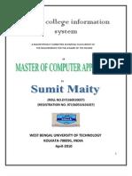 online college infornation system in ASP.net