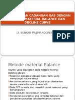 229354025 Perhitungan Cadangan Gas Dengan Metode Material Balance