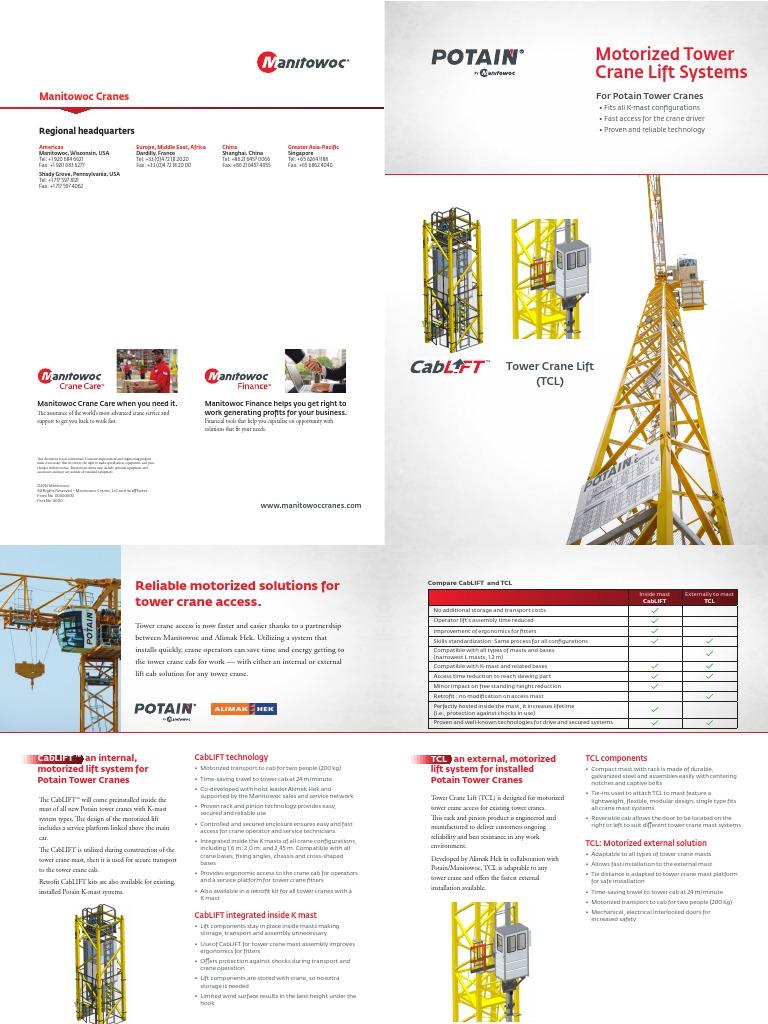 Alimak Construction Tower Hoist Wiring Diagram