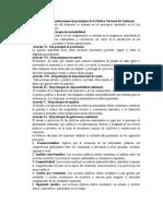 Legislación y organismos de protección ambiental en el Perú.