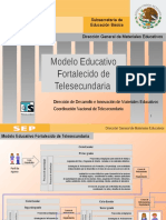 Modelo Fortalecido TELESECUNDARIAS