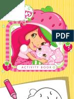 Strawberry Activity Book