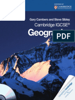Cambridge ICGSE Geography Case Studies