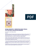Renacimiento e Inmortalidad Fisica -  Los Secretos del Juvenecimiento, Leonard Orr y Efraín Villegas Quintero (extracto)