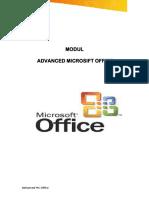 Advanced Ms Office Versi 1