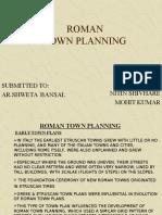 Roman Town planning
