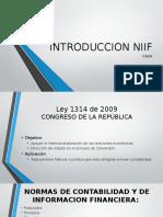 INTRODUCCION NIIF