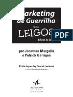 Marketing de Guerrilha Para Leigos - Bolso