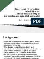 Treatment of Intestinal Helminthiasis