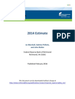 2014 Bailout Barometer Current Estimate